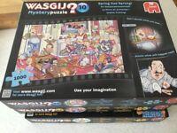 3x Wasgij puzzles
