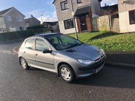 Peugeot 206 1.4 ideal first car
