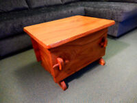 Blanket Chest - Handcrafted in Solid Elm