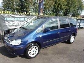 FORD GALAXY 1.9 TDi Zetec 5dr Auto (blue) 2005