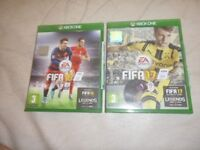 Fifa 16 and Fifa 17 Xbox one games, great condition.