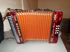 Black Dot BC Tunning accordion like new £360