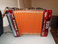 Black Dot BC Tunning accordion like new £360