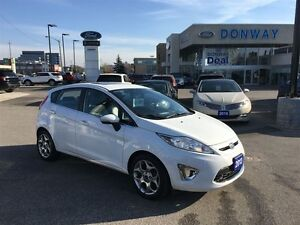 2013 Ford Fiesta Titanium|LEATHER|HEATED SEATS|SUNROOF