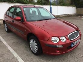 ROVER 25 1.4 ONLY 60,000 MILES, NEW MOT APRIL 2018, DRIVES PERFECT, READY TO GO