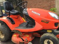 Kubota GR 1600 ride on tractor