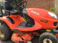 Kubota GR 1600 ride on tractor