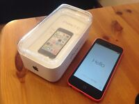 Pink iPhone 5C 8GB on EE network