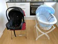 Car seat and baby basket