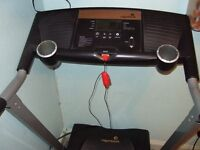 Treadmill ,Rodger Black solid build. only £40 for quick sale.
