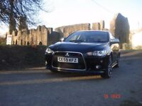 Mitsubishi Lancer Ralliart -GSR -SA Sport-back in black