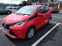 Toyota Aygo Hatchback 1.0 VVT-i X-Play 5dr. £0 Road Tax. Cheap to insureLady owner, low milage!
