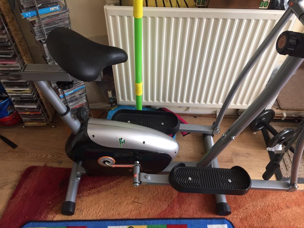 Gym exercise bike