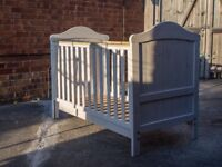3 Piece Solid Pine Nursery Set - Cotbed, Wardrobe, & Changing Unit/Cupboard, Mothercare