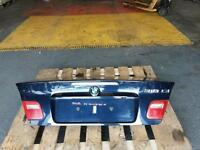 BMW E46 3 SERIES 318ci CONVERTIBLE BOOTLID TAILGATE IN BLUE