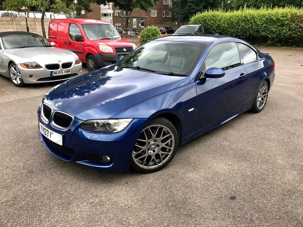 bmw 320d coupe m sport le mans blue huge spec in northolt london gumtree. Black Bedroom Furniture Sets. Home Design Ideas