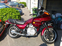 Honda gl500 silver wing cx500