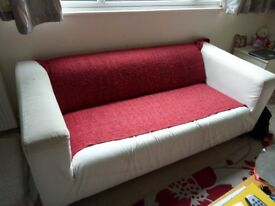 Ikea Klippan sofa for sale. Comes with a free Gurli spread.