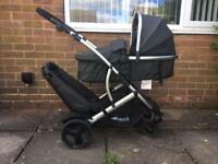 Hauck Duett 2 double pushchair