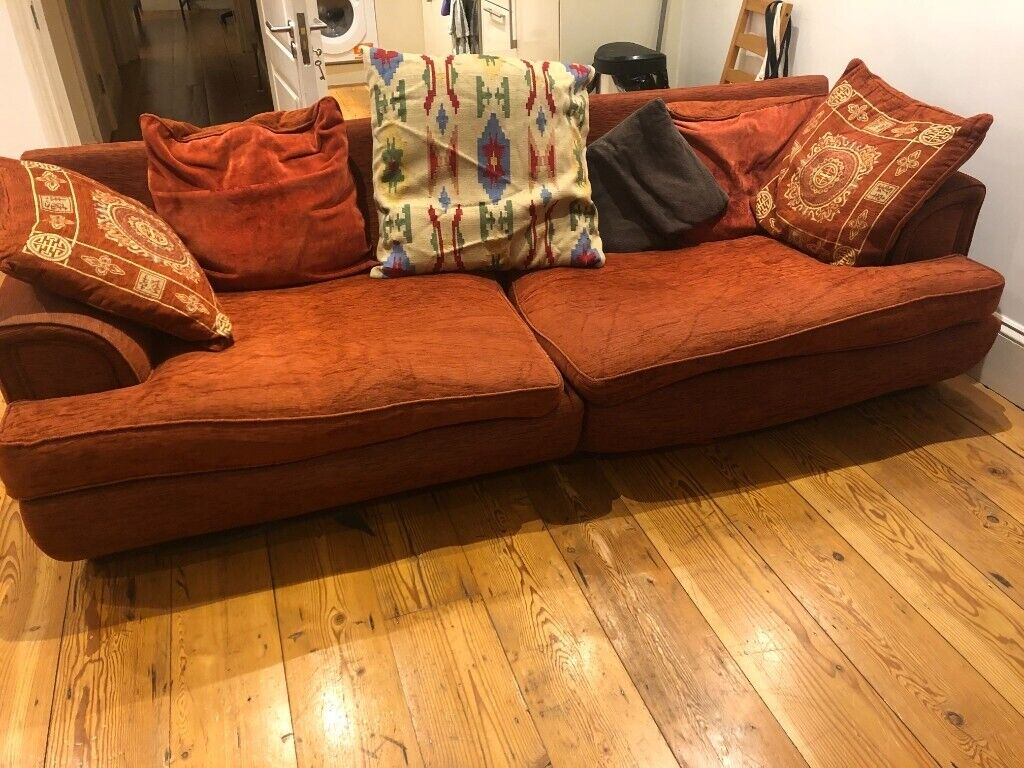 Picture of: Big Comfy Sofa With Tonnes Of Cushions In Hackney London Gumtree