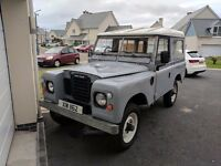 1973 Land Rover Series 3 88 SWB diesel beautiful example