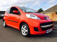 2009 PEUGEOT 107 VERVE 32k MILES FROM NEW ONLY £20 ROAD TAX SND LOW INSURANCE GROUP