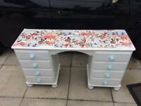 Child's Mickey Mouse desk