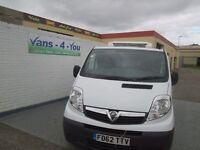 2013 vauxhall vivaro fridge/freeze 2 departments full service history used in london derry/belfast