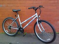 Universal mountain bike - straight - wheels - Rio Gel seat - good condition !