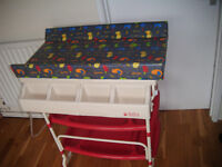 Baby Bathing Trolley/Changing Station