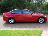 BMW 3 SERIES 2.0 320D EFFICIENTDYNAMICS 4d 161 BHP SERVICE RECO (red) 2012