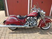 Indian Chief Classic - Low Mileage - Excellent Condition