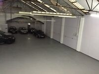 CAR SALES GARAGE WORKSHOP STORAGE WAREHOUSE UNIT FOR RENT