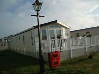 Willerby Vogue static caravan on Barry Downs Park, Carnoustie