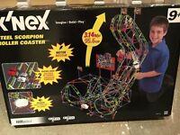 Knex Steel Scorpion Roller Coaster (1035 pieces) Age 9+