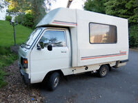 Honda Acty Romahome - demountable 2-berth campervan/motorhome, for spares/repair