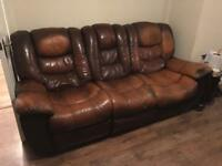 Free 3 & 2 seater sofa