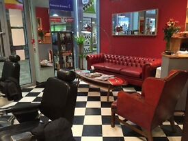 Experienced barbers/hairdressers/beautician required for busy Barbershop/Salon in the Merrion Centre
