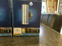 Zenon external Wall lights for sale.