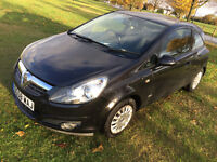 58 plate 2008 vauxhall corsa 1.2 - 63,000 miles - LONG Mot - with Air Con - very clean