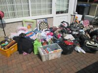 Job Lot car boot lot of good clean condition baby clothes boys and girls shoes bags coats 20bags ect