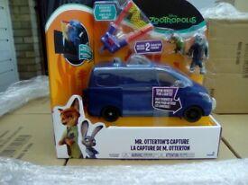 20 Tomy Zootropolis Mr Otterton's Capture Vehicle Genuine A1 Liquidated Stock X 20 units