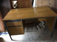 DESK WITH TWO DRAWERS FOR SALE