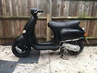 70cc reg as 50cc piaggio vespa honda yamaha moped scooter zip gilera runner 125