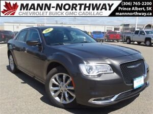 2017 Chrysler 300 Touring | Leather, Sunroof, Navigation, AWD.