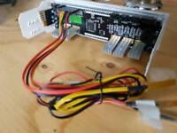 Desktop PC drive slot fan speed/temp control