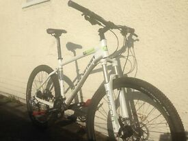 Bordeman hardtail mountain bike in a large frame, good condition serviced and well looked after.