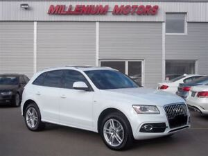 2014 Audi Q5 2.0 AWD S-LINE & PROGRESIVE/ LEATHER/ SUNROOF