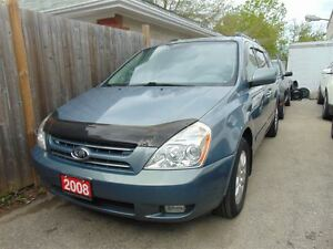 2008 Kia Sedona LEATHER-SUNROOF-DVD