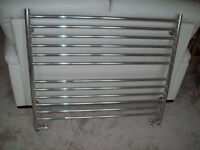 Towel Radiator in chrome size L 1000 x H 800mm High quality & output